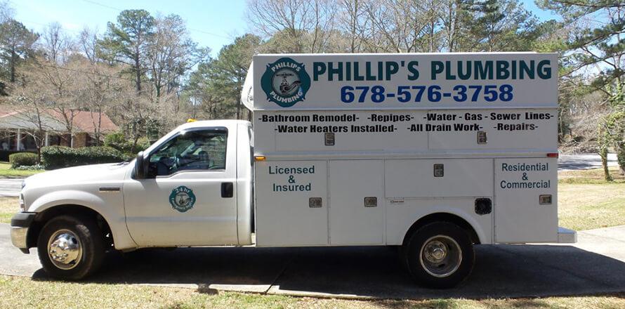 Phillips Plumbing LLC Truck